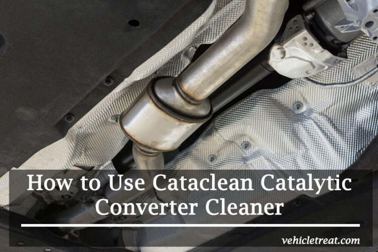 How to Use Cataclean Catalytic Converter Cleaner