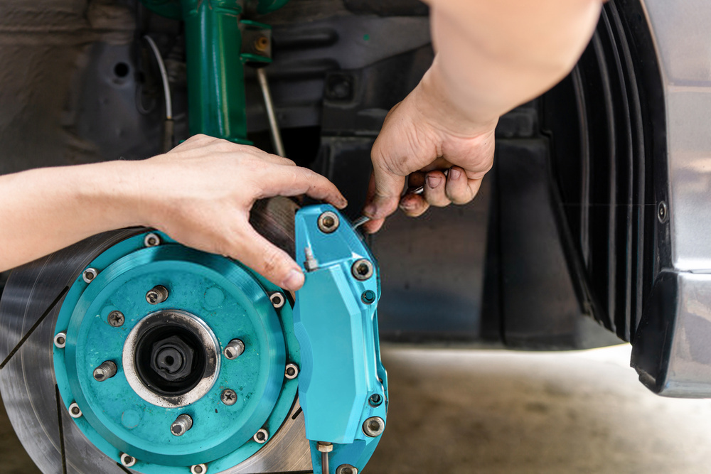 How to Compress Brake Caliper